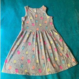 Girls ice cream print dress